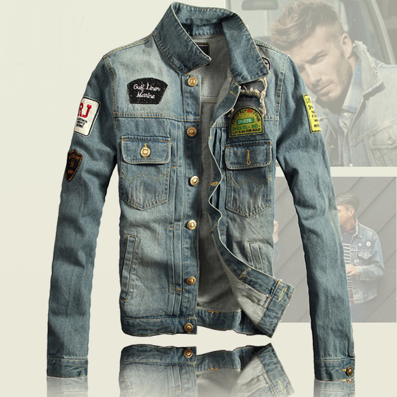 Denim Jacket Men 2017 Winter Jean Jacket Top Quality Denim Jackets