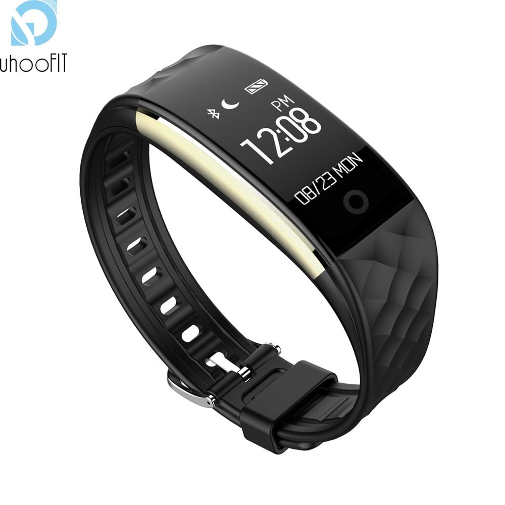 imágenes para Bluetooth Banda Inteligente S2 Gimnasio Brazalete Rastreador GPS deporte Ritmo Cardíaco Pulsera Smartband Para IOS Android teléfono Impermeable T30