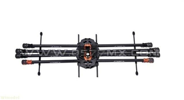 T18 photographie aérienne 25mm Fiber de carbone Protection des plantes aéronef sans pilote (UAV) TL18T00 Octocopter cadre 1270MM FPV F08167