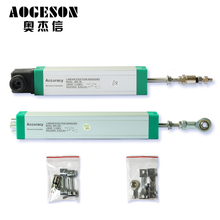 Injection molding machine high precision linear displacement sensor lever type KTC50mm to 275mm universal electronic ruler free shipping high precision linear glass scale 600mm 0 005mm 5 micron encoder linear for lathe milling machine linear ruler