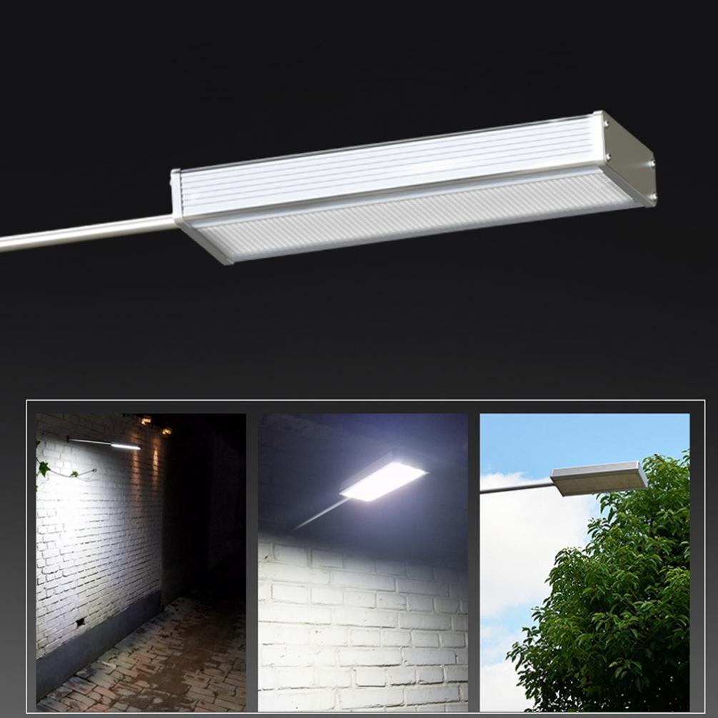 New Arrival 48LED Waterproof Microwave Radar Motion Sensor Solar Light 720LM  Street Outdoor Wall Lamp Security Spot Lighting
