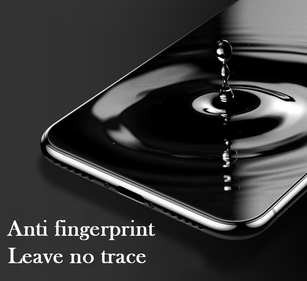 New 7D Screen Protector Curved Edge Full Cover Protective Glass For iphone X 8 7 6 Plus 9H Protective Glass white black Film  (23)