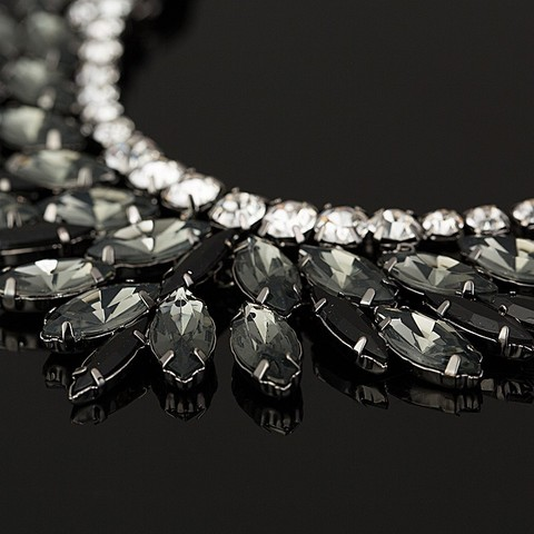2018 New  Brand Luxury Crystal Necklaces & Pendants Eyes Resin Choker Statement Necklace Valentines Day Women Jewelry #N007 Multan