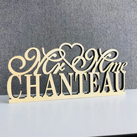 Custom Mr & Mrs Name Wedding Table Sign,Personalized color wood Table Sign Wedding with name,Bride & Groom Sign Decor Supplies