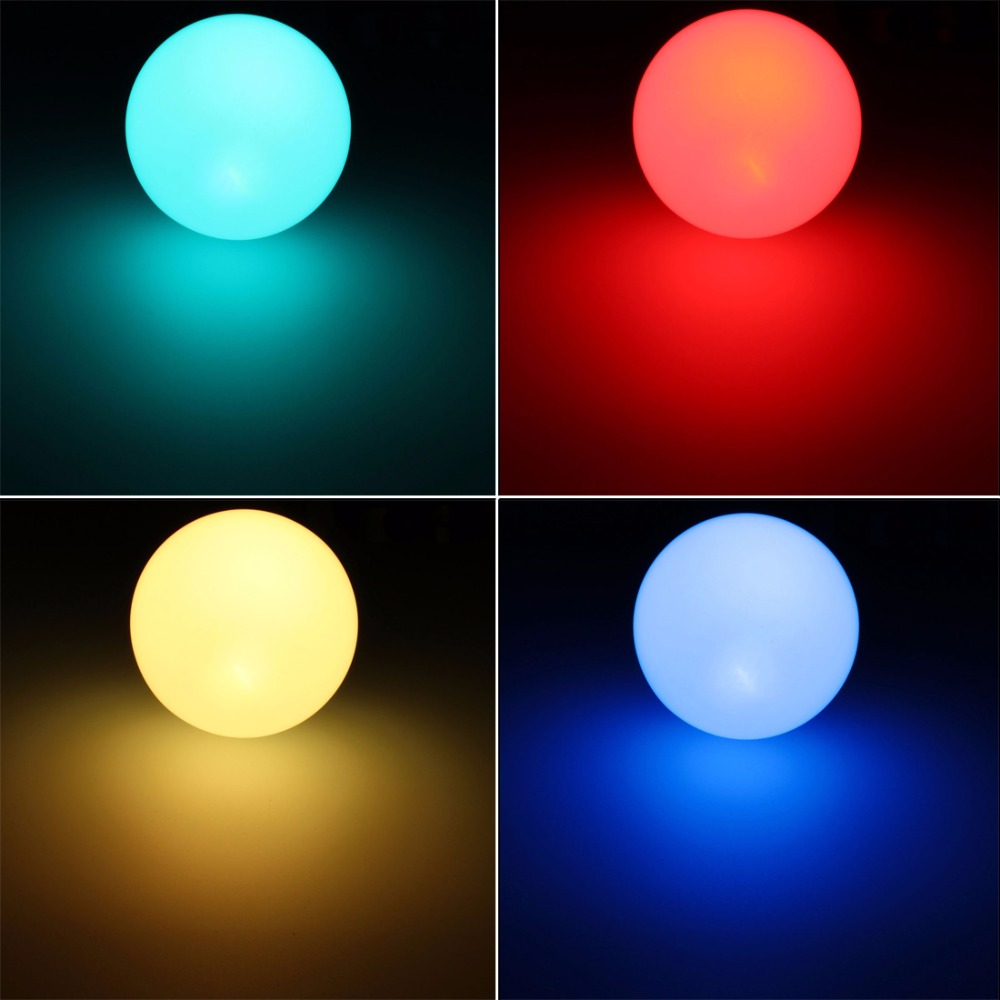 High Quality  AC 85-265 5W E27 RGB 16 Color LED Globe Bulbs RGB LED Light with 24Key Rmote Control e27 led rgb bulbs 3w 5w 10w rgb globe