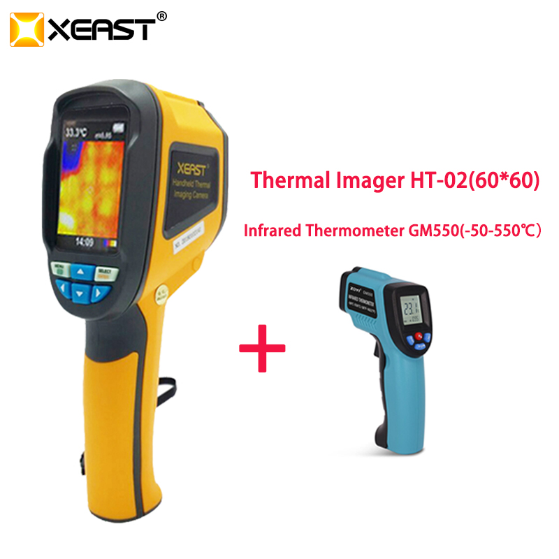 PROMPT Delivery from Moscow Warehouse Handheld Infrared Thermal Imager HT 02 Portable HT02