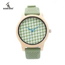 БОБО ПТИЦА Марка Watch Мужчины Женщины Деревянные Наручные Часы Силиконовый Ремешок Часы Relojes Hombre Horloge Orologio Uomo Montre Homme