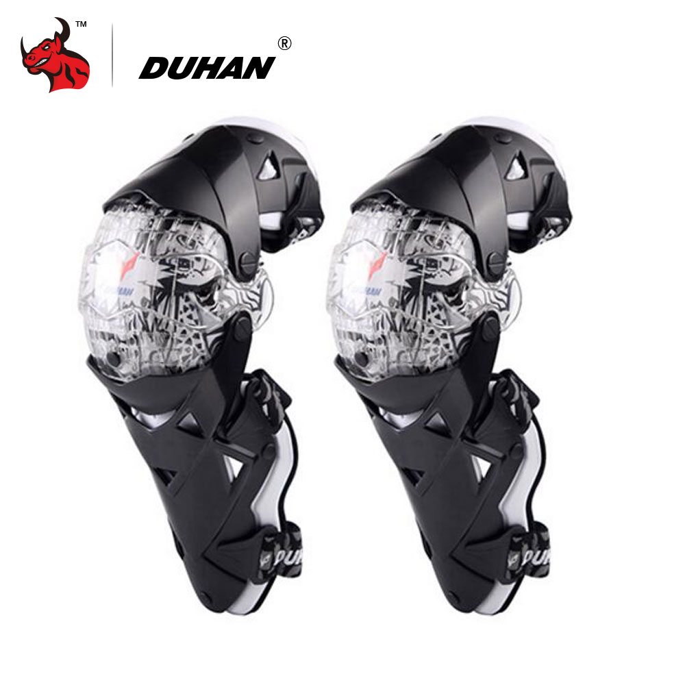 DUHAN Motorcycle Knee Protector Motocross Knee Guards Moto Knee Protector Equipment Motocross CE Approval Guards Racing