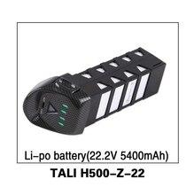 Original Walkera TALI H500 Battery LiPo Battery Walkera TALI H500 sapre parts TALI H500-Z-22 Part Black color