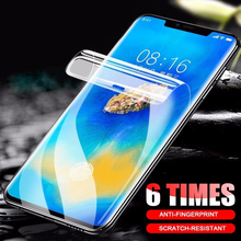 2Pcs 6D Cover Soft Hydrogel Film Screen Protector Film For Huawei Mate 20 Pro P30 P20 Pro Lite Honor 8X Max 10 9 Protective Film 2pcs 6d cover soft hydrogel film screen protector film for huawei mate 20 pro p30 p20 pro lite honor 8x max 10 9 protective film