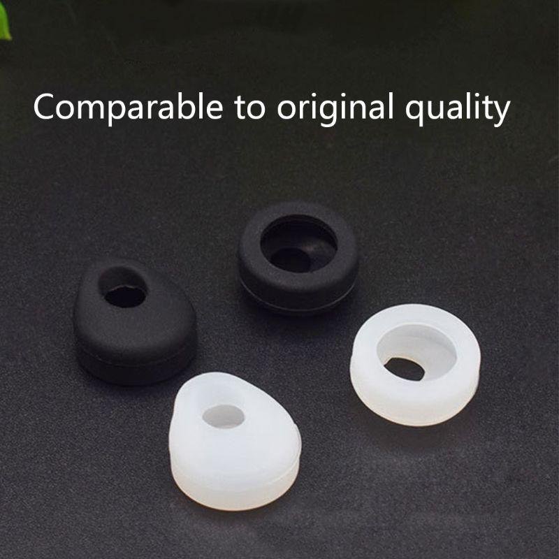 1 par de pontas da orelha botões silicone fone earhooks eartips substituição para jabra easygo easycall sem fio bluetooth fone ouvido