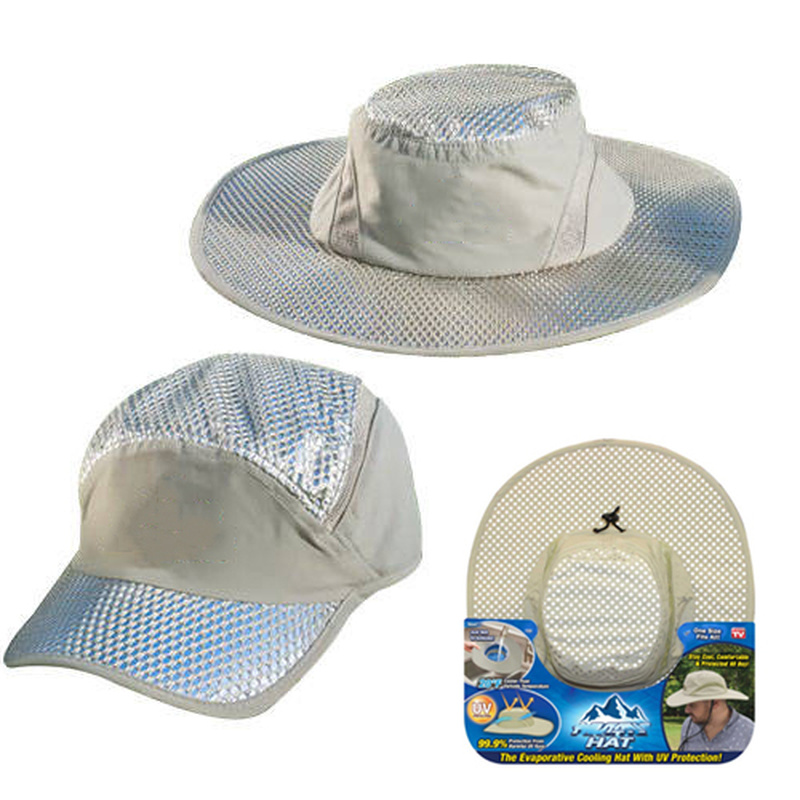 Hot Selling Arctic Cap Cooling Ice Cap Sunscreen Hydro Cooling Bucket Hat Arctic Hat With UV Protection Keeps You Cool Protected