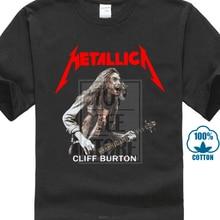 9f48280bcbf0 T Shirt Hot Topic Summer Sleeves T Shirt New Metallica *Cliff Burton Rock  Legend Mens