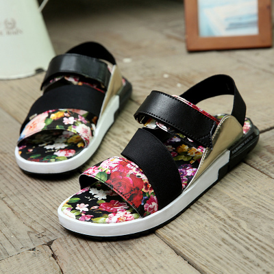 c758a3eb0f0 2016 mens summer beach sandals y3 male breathable sandals slippers shoes  casual male shoes leather beach sandals-in Women s Sandals from Shoes on ...
