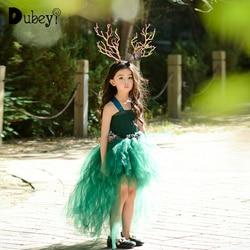 أزياء قزم للبنات من 10 إلى 12 سنة أنيقة للأطفال الصغار ملابس حورية البحر فستان أطفال للحفلات الراقصة