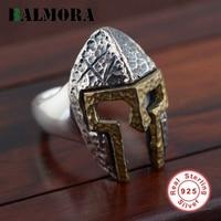BALMORA Neue Heiße Authentic 925 Sterling Silber Personalisierte Maske Offene Ringe für Männer Mode Punk Coole Schmuck Party Geschenk SY21612