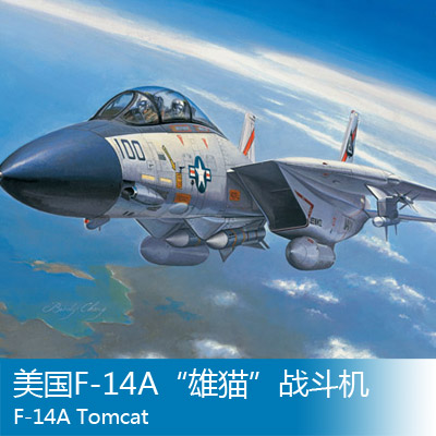 Trumpeter 1/72 F-14A Tomcat aircraft Assembly model Toys u s a f 14a tomcat aircraft 1 72 assembly model toys