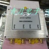 2 4G/380-2500 Mt RF Power Divider WIFI SMA eine Vier Station Vier Teiler