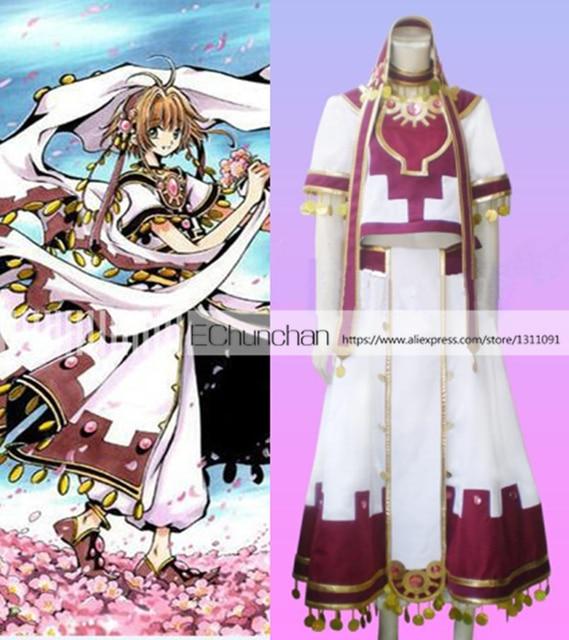 Tsubasa: Reservoir Chronicle Sakura Cosplay Uniforme Feito