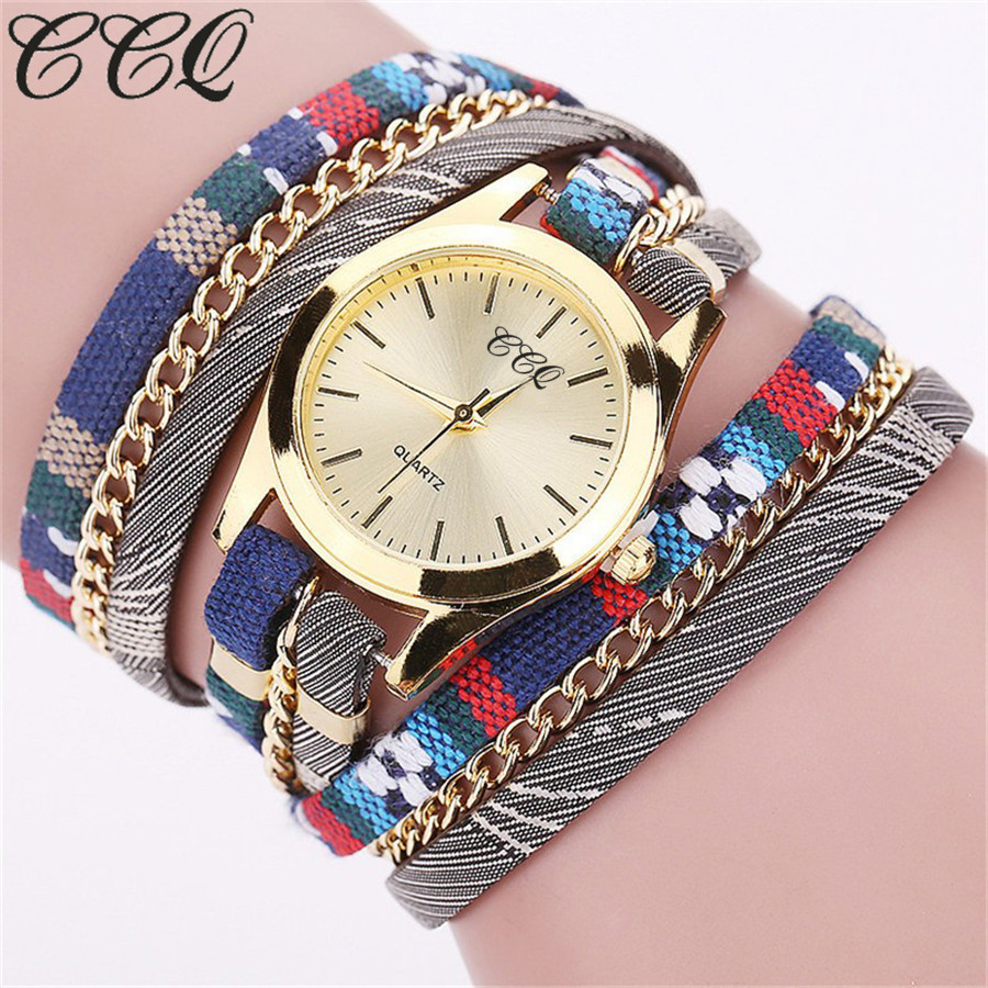 Hot Sell New Fashion Leather Bracelet Watch Casual Luxury Women Wristwatch Quartz Watch Relogio Feminino Gift ccq brand fashion vintage cow leather bracelet roma watch women wristwatch casual luxury quartz watch relogio feminino gift 1810