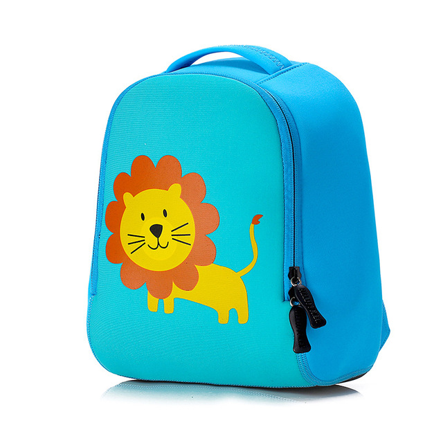0443d6870b Cute lion Animal Design Toddler Kid rabbit School Bag Kindergarten Cartoon dog  backpack Preschool 1-