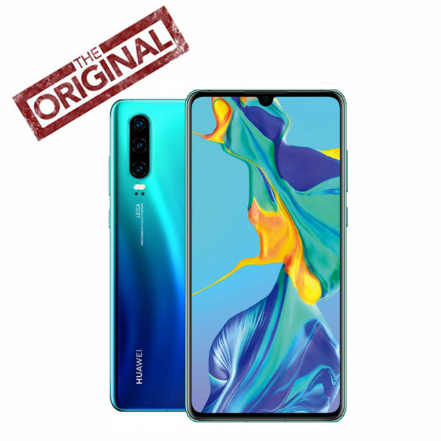 Original New Official Huawei P30 Pro Mobile phone Kirin 980 Android 9.1 6.47'' OLED FHD 2340X1080P IP68 NFC 40MP 8G RAM 512G ROM