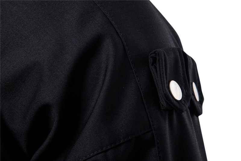 New Men's fashion zipper Jackets Casual top Coats Solid Color high-grade Brand dropshipping Clothing Stand Collar Bomber Jackets