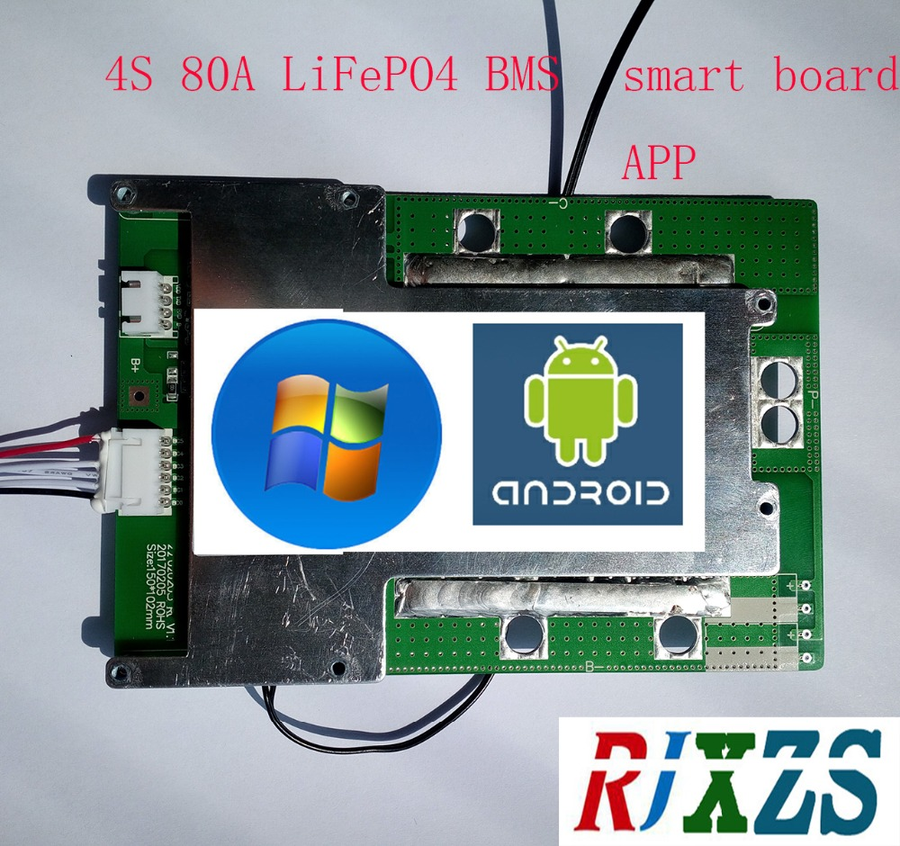 1s 24a 3.2v 3.6v LiFePO 4 Life 18650 Battery Charger BMS protection PCB board PCM