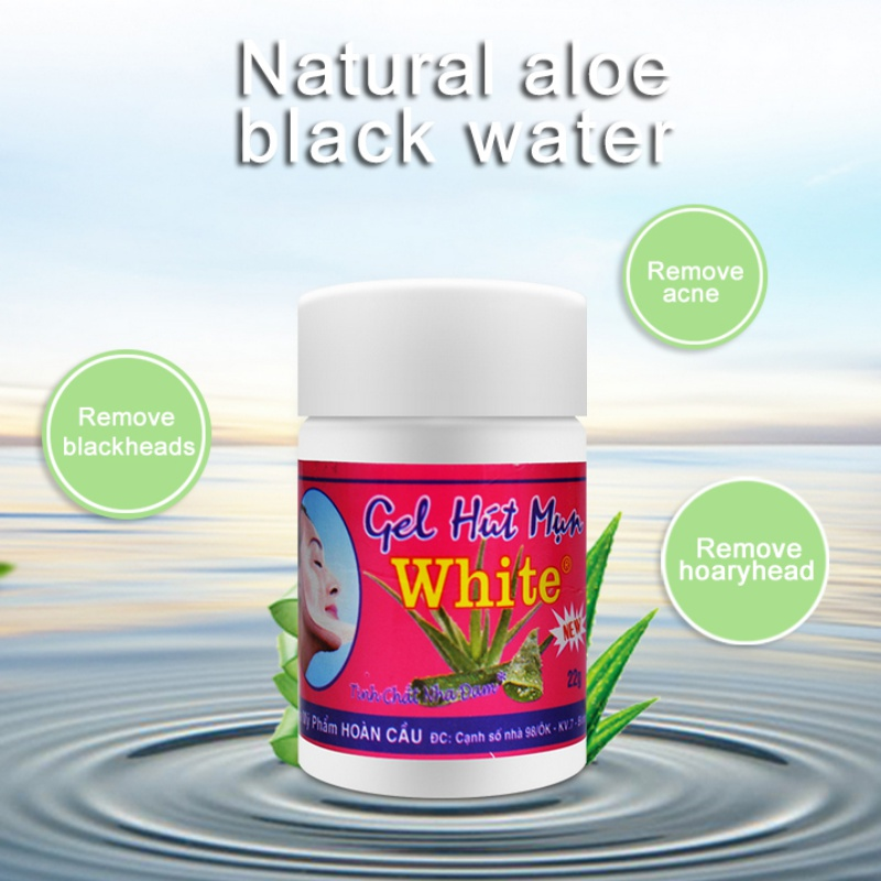 To Blackhead Water To Clean Nose Paste Strawberry Nose Aloe Vera Gel Shrink Pores Cleansing Cured Acne Skin Care Products
