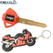 Motorcycle Key Embryo Uncut Keychain Keyring Key Chain Key Ring Holder soft Rubber For Suzuki Hayabusa GSXR1300 GSXR700 650 1000 new motorcycle soft rubber key ring keychain keyring for ducati logo ducati