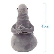 1pc 45cm czeka pluszowe zabawki Zhdun Meme Tubby szary Blob Zhdun wypchana lalka Homunculus Loxodontus prezenty dla dzieci