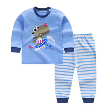 Boys Clothing Set Cartoon Cars Clothing Costume Newborn Long Sleeve T-shirt Pant Suit Infant Cotton Blouse Trousers Set(China)