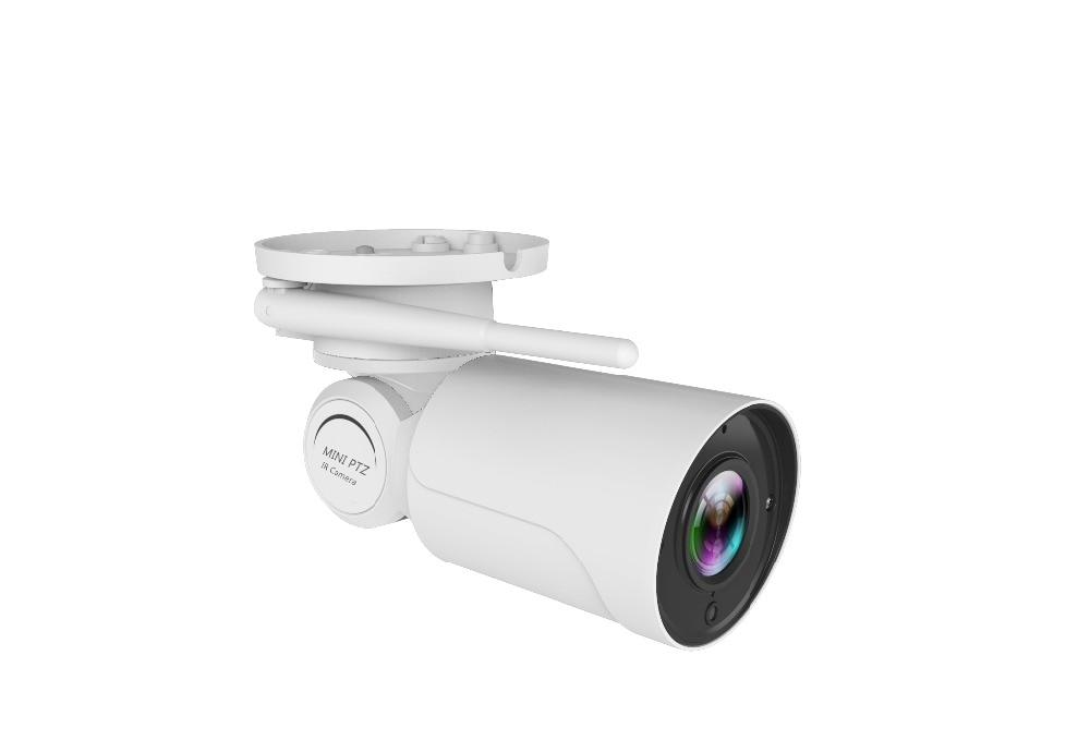 IP PTZ Bullet Camera 1080P Full HD 4X Optical Zoom IP66 Waterproof 50m IR Night Vision IP Camera Mini Outdoor PTZ with wifi