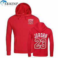 Man Printed Pocket Casual Jacket Fashion Jersey Sweatshirt Brand Hoodies Usa Jordan 23 Pullover Long Sleeve