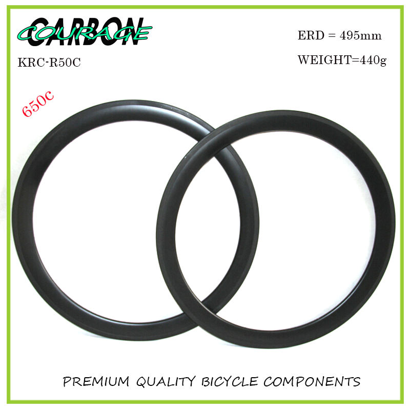 650c carbon rim 50mm clincher lightweight bicycle rims basalt brake 24hole and 20hole for sale full carbon bike rim 50mm deep clincher ty[e 20 5mm width front and rear bicycle rims 1 pair 2pc basalt brake line 3k 12k 18k