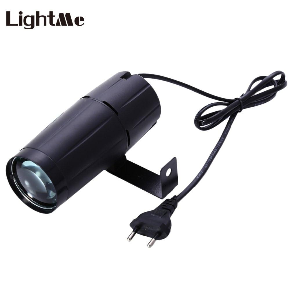 Led Spotlight Stage Light: Lightme DJ Disco Light 3W Mini LED Spotlight AC90 240V 200