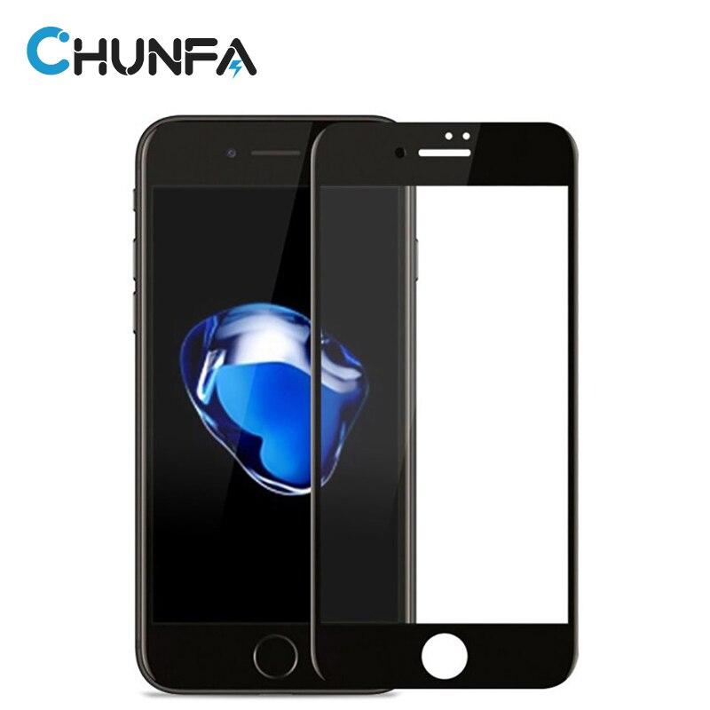 Premium 3D <font><b>Arc</b></font> Edge <font><b>Full</b></font> <font><b>Cover</b></font> <font><b>Tempered</b></font> <font><b>Glass</b></font> for iPhone 6 Screen Protector Protective <font><b>Glass</b></font> for iPhone 6S Plus Film Guard 9H