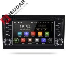 Isudar Car Multimedia Player GPS Andorid 7 1 2 Din For Audi A4 S4 2002 2008