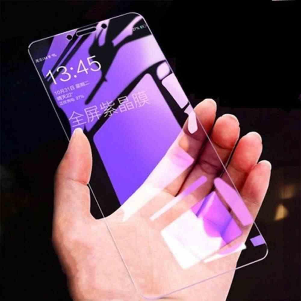 Pełna pokrywa fioletowe światło szkło hartowane dla huawei mate20lite nova2lite Screen Protector dla huawei mate10lite Film