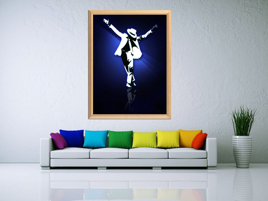 MJ 5D DIY Diamond Painting Full Square Diamond Embroidery Sale The Greatest Actor Artist In The World Michael Jackson Picture