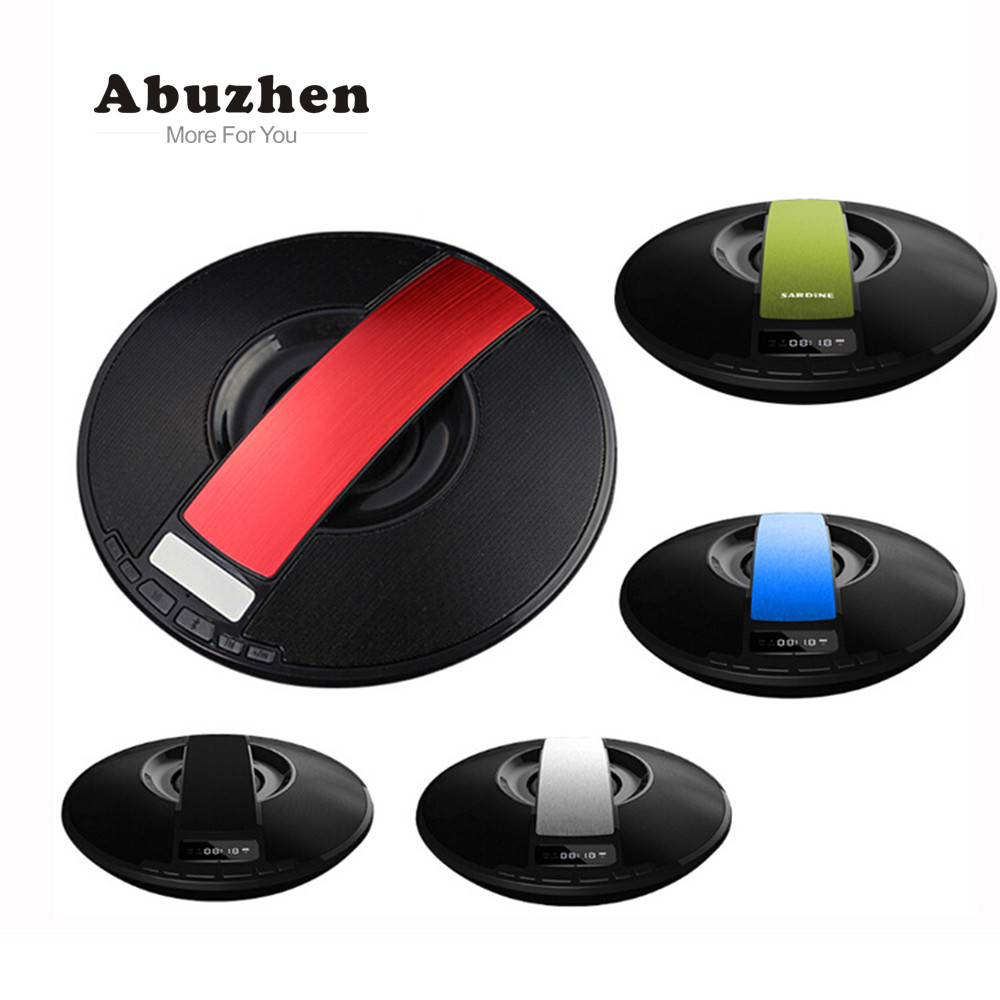 Abuzhen Portable Wireless Bluetooth Speaker Altavoz Bluetooth Smart Subwoofer Output with Mic Handsfree for Phones Xiaomi iPhone 14 for lenovo flex 2 14 80fj 80gs 20404 20432 front outter touch screen panel digitizer glass lens sensor replacement bezel