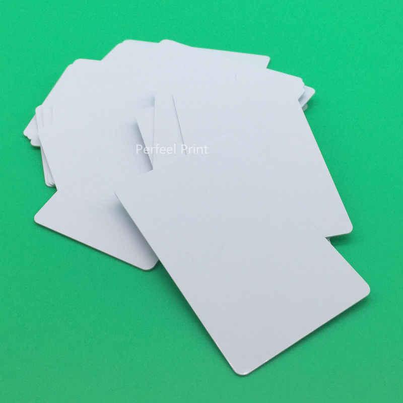 230 sztuk atramentowe nadający się do wydruku puste PVC karty bez czip do urządzeń firmy Epson R330 R290 R390 R260 R265 R270 R280 R285 R380 PX665 PX660 RX680
