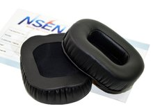 Replacement Earpads Ear Cushion Repair Parts For Tiamat Headphones Black 1 Pair