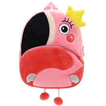 2020 Cartoon Kids Plush Backpacks Mini Kindergarten schoolbag Plush Animal Backpack Children School Bags Girls Boys Backpack - 10