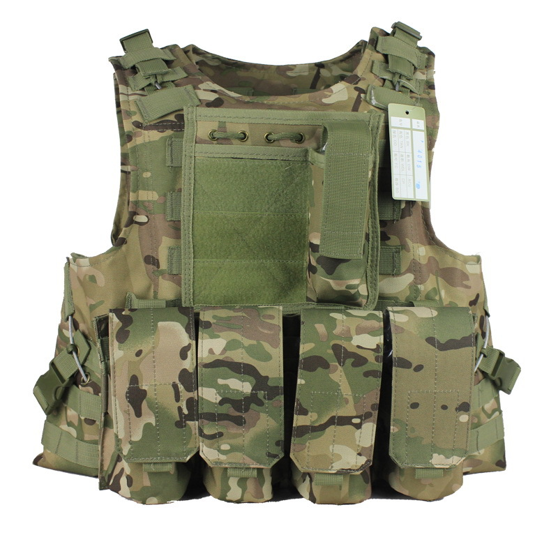 Military Vest Molle Tactical Vest Army Vests Multicam