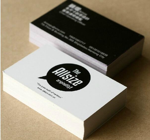 Online shop free shipping 500pcslot 300gsm art paper business card free shipping 500pcslot 300gsm art paper business card 4 color offset printingbusiness card printing custom business cards reheart Choice Image