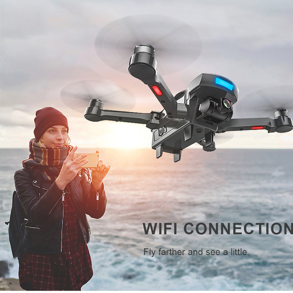 18 GPS tracking surround folding Drone 1000M Mins Brushless gesture aerial shot 1080P HD Camera WiFi FPV RC Quadcopter 25