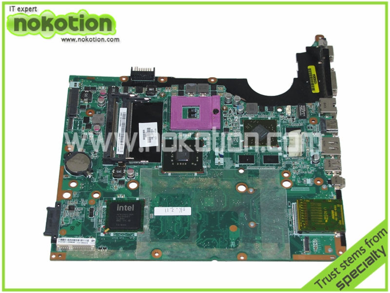 NOKOTION 516293-001 Laptop Motherboard for HP Pavilion DV7-2000 PM45 DDR2 Only ATI HD 4530 graphics Mainboard free cpu