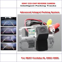High Quality 3089 Chip Intelligentized Rear Camera For SEAT Cordoba 6L 2002~2009 / NTSC PAL RCA AUX HD SONY CCD 580 TV Lines