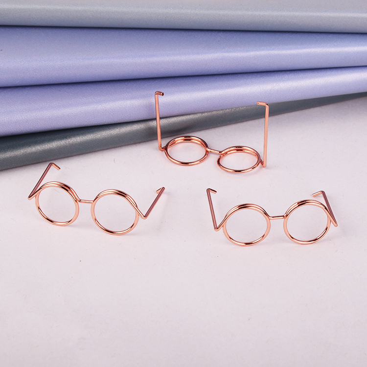 Rose Gold Eye Shape Clip Lovely Pin Large Triangle Paper Clip Office Accessories